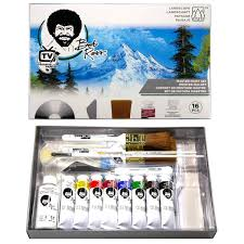 oil painting master set with dvd