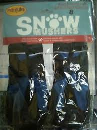 Details About Muttluks Snow Mushers Dog Boots Size 8 Large New Winter Shoes