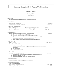 Work Experience Resume Sample Amazing First Time Job R On Professional Resume Templates First Time Resume