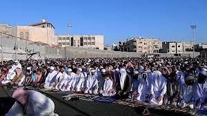 صلاة عيد الفطر الاردن ملعب جبل النصر - الدكتور الشيخ زياد العبادي 2012 -  YouTube