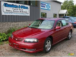 2005 Chevrolet Impala SS Supercharged in Sport Red Metallic ...