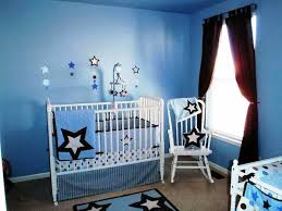 baby boy furniture. Baby Boy Room With Blue Walls And White Furniture P