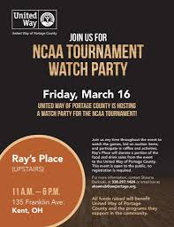 Event Flier United Way Ncaa Event Flier 2018 Ravenna Chamber Of Commerce