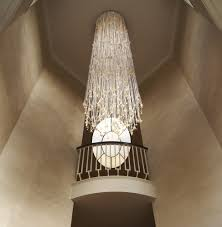 hall decoration led fiber optic chandelier light