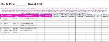 Address And Phone Number List Free Template For Phone Number List Wedding Guest Spreadsheet Fresh
