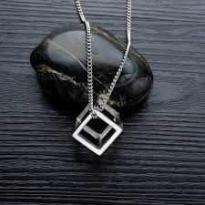 <b>Titanium Steel</b> Necklace Men and Women <b>Simple</b> Punk Fashion ...