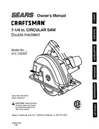 Owner u0027s manual craftsman u003ci u003ecraftsman u003c i u003e user u003ci u003emanuals u003c i craftsman 38830 owners manual software
