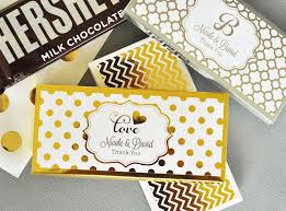 personalized chocolate bar wrappers personalized metallic foil candy and chocolate bar wrapper covers
