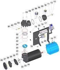 arb air compressor service and parts manual ckmp12