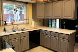 Exellent Brown Painted Kitchen Cabinets Best Paint To Use On Home Impressive Ideas