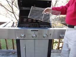Simple Kitchenaid 5 Burner Gas Grill With Side And Decorating Ideas