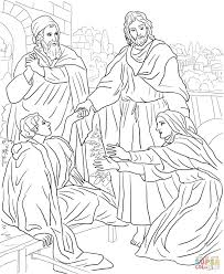 jesus raises widows son coloring page jesus raises widow's son coloring page free printable coloring pages on widow of nain coloring page