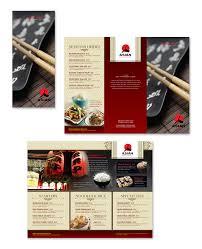 Take Out Menu Template Asian Restaurant Take Out Menu Template