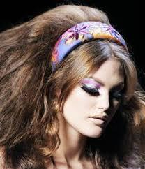 70s hair makeup