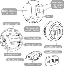 z wave motion sensor light wiring diagram z discover your wiring aeotec multisensor motion light temperature humidity dsb05 z