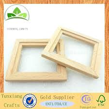 paint unfinished wood mirror drawing toys early learning educational kindergarten arts craft