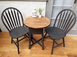 lovely solid wood painted chairs and tables various colours excellent quality finish