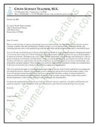 science teacher cover letter sample special education cover letter sample