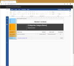 Fastreport Online Designer How To Use Online Designer With Fastreport Open Source