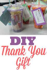 one of my recent ideas for a diy thank you gift that you can use for
