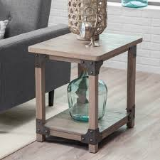 coffee table wood and metal aiden coffee table world market end tv