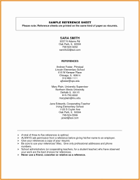 Sample Professional References Page 76 Inspiring Gallery Of Sample Resume With Professional