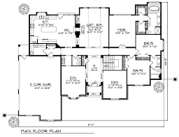 Country French Floor Plan  Tuscany HomesCountry Floor Plans