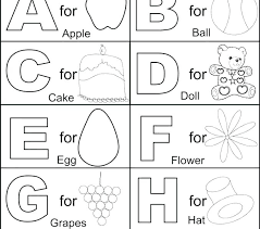 Printable Abc Colouring Sheets Printable Coloring Pages Alphabet