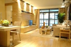 stylish lighting living. Living Wood Design Stylish Room With Recessed Lighting Hall  Divider Designs N