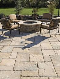 Paver Designs For Backyard Painting