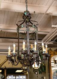 spanish style chandelier dining room chandeliers large wrought iron