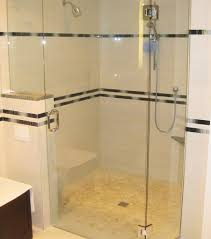 example of glass shower door replacement