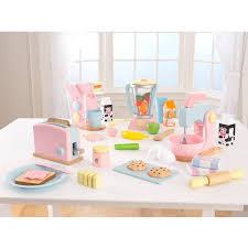 Pastel Kitchen Kidkraft Pastel Play Kitchen Accessories 4pk Walmartcom