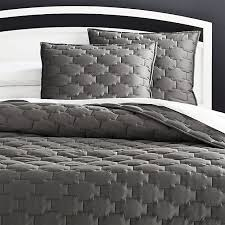 Palazzo Grey Quilts and Pillow Shams