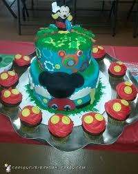 Coolest Homemade Mickey Mouse Cakes For Birthday Girls And Boys