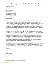 New Teacher Cover Letter Template Best Templates