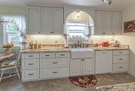 Kitchen Case Study White Country Cabinets