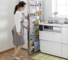 10 cm 4 inch wide kitchen shelf fits in the space between fridge and