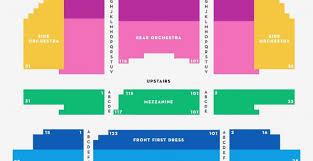 Fox Riverside Seating Chart Unusual Fox Atlanta Seat Map Proctors Theater Seating Chart