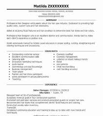 Best Salon Manager Resume Example | Livecareer
