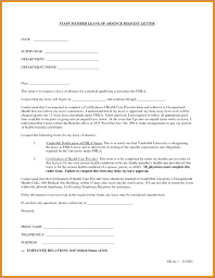 Leave Of Absence Letter Format Theunificationletters Com