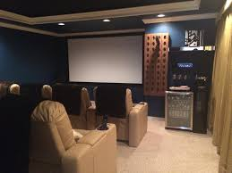 Cool home theatre furniture with recliners leather sofa and comfortable  home theatre seating ideas