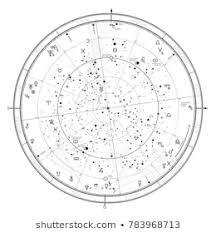 Horoscope Chart Horoscope Chart Stock Vectors Images Vector Art
