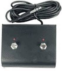 amazon com marshall footswitch, two button with led musical Epiphone Special 2 Wiring Diagram at Hosa Dual Channel Footswitch Wiring Diagram