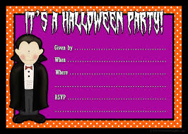 Blank Halloween Invitation Templates Fancy Blank Halloween Party Invitation Templates As Amazing