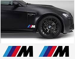 bmw stripes. Simple Stripes BMW M Champ Edition Decal Side 180mm 2pcs Set White With Color  Stripes With Bmw Stripes