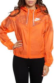Nike Sportswear Windrunner Jacket Turf Orange Summit White
