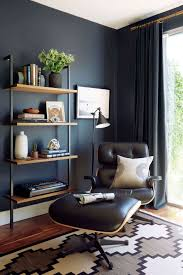 finished office makeover. Emily Henderson_Home Office_Dark_Modern_Masculine_1 Finished Office Makeover