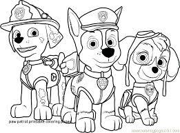 Paw Patrol Marshall Coloring Page Paw Patrol Coloring Page Elegant