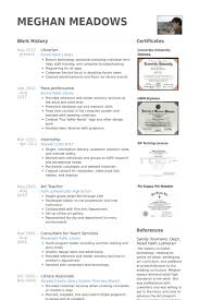 Librarian Resume samples